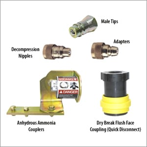 Agricultural Hydraulic Quick Release Couplers