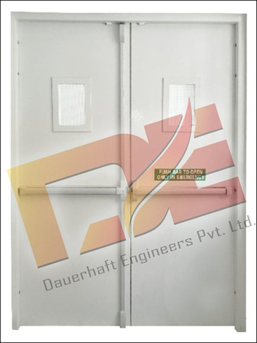 Panic Bars Fire Rated Doors
