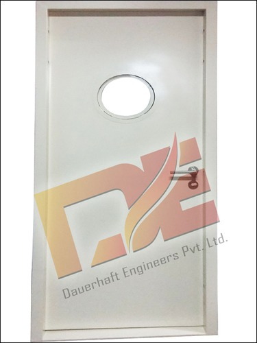 Fire Door With Round Vision Panel