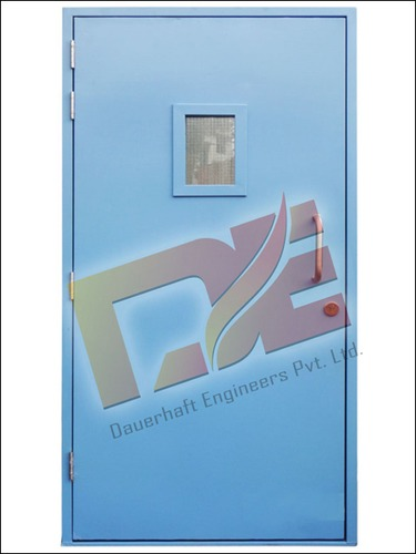 Fire Door With Vision Panel