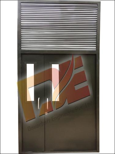 Metal Door With Ventilator