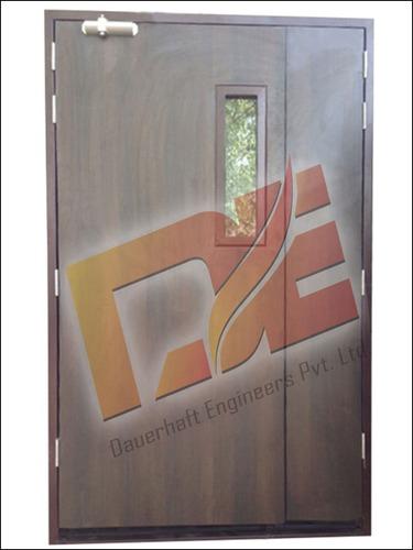 Metal Fire Door With Lamination