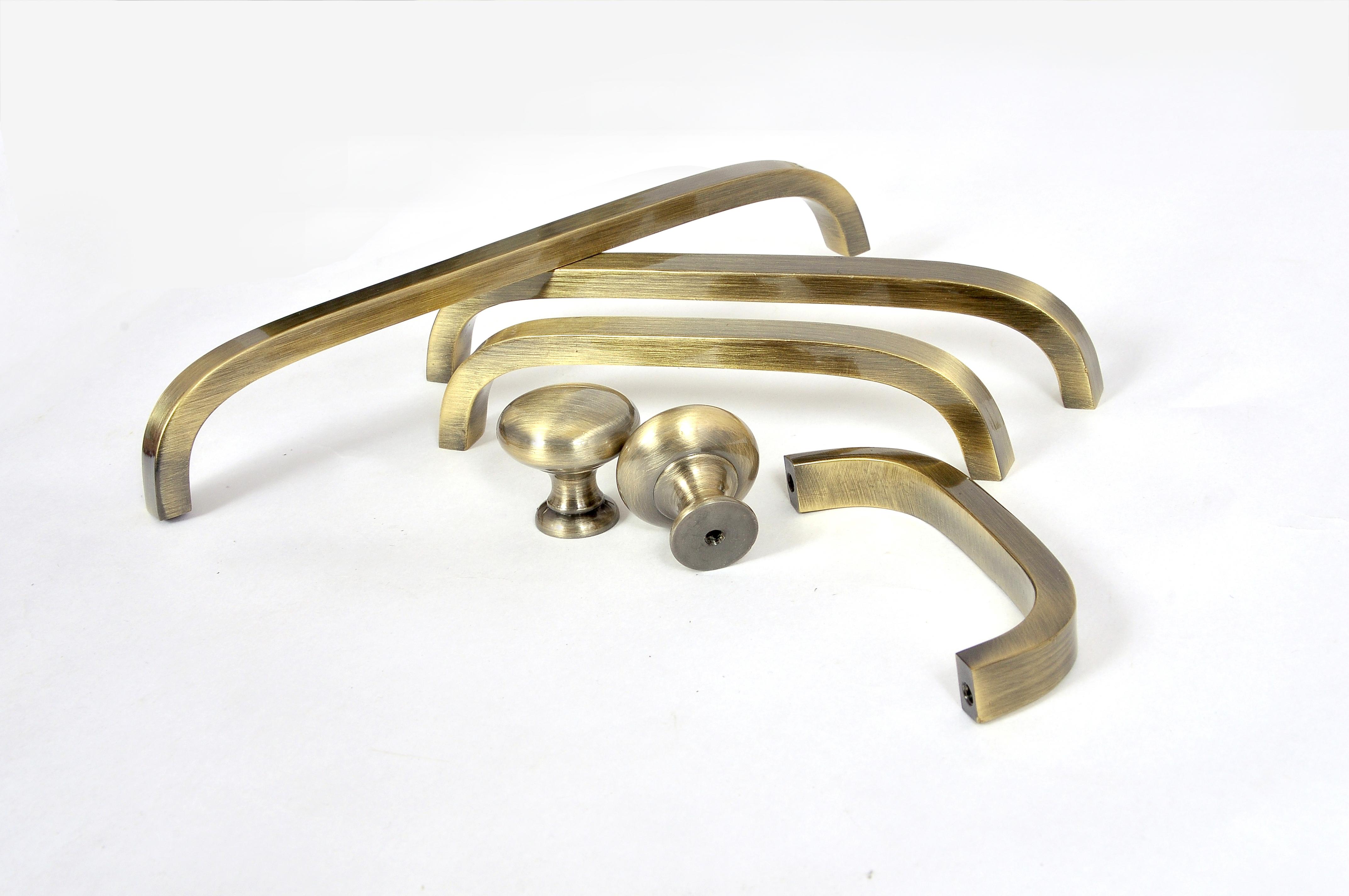 Round Brass Knob