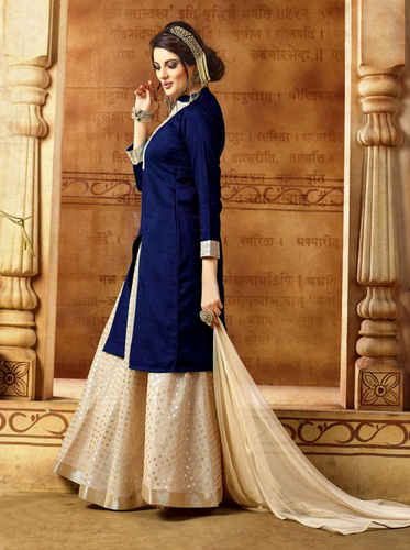 Designer Semi-stitched Indo Western Suits