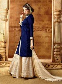 Designer Semi-stitched Indo Western Suits