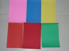 Colorful Abrasive Paper