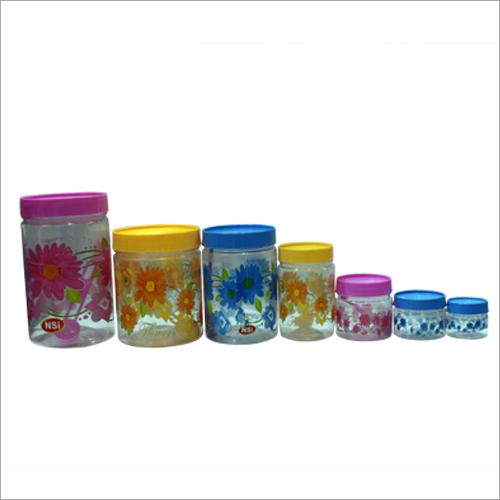 Plastic Kitchen Jar