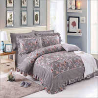 Printed Frill Bedsheet