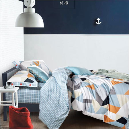 Regular Size Designer Cotton Bedsheet