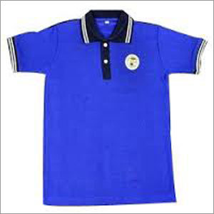 School T-shirt Blue