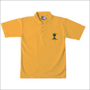School T-shirt Yellow