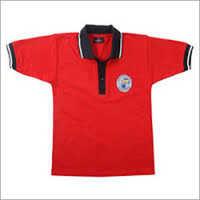 School T-Shirt Red