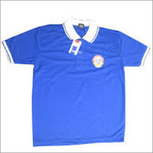 School Cotton T-shirt Blue
