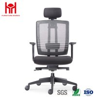 Hot sale high quality mesh office chair with plastic back