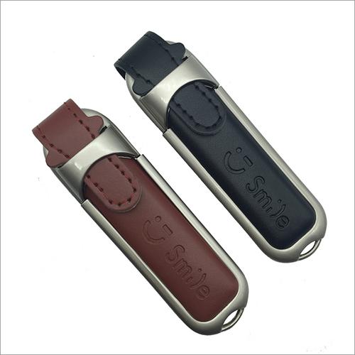 Leather Loop Pen Drive