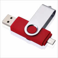 Swivel Shaped OTG pen drive