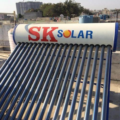 Copper Solar Water Heater