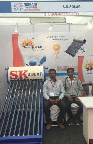 SS Solar Water Heater