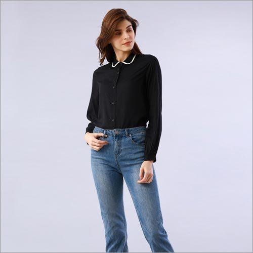 Solid Black Shirt
