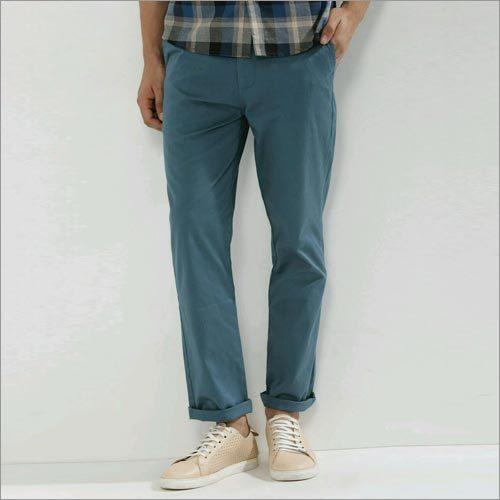 Blue Slim Chinos