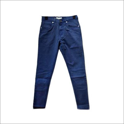 Dusty Blue Skinny Fit Jeans
