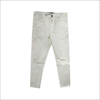 Raw Hem Skinny Fit Jeans