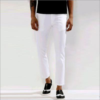 White Slim Fit Chinos