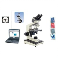 Microscope With Image Projection System