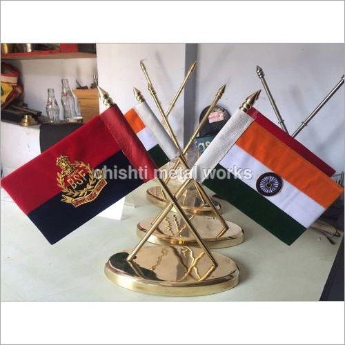Table Cross Flag