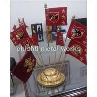 Brass Table Flags