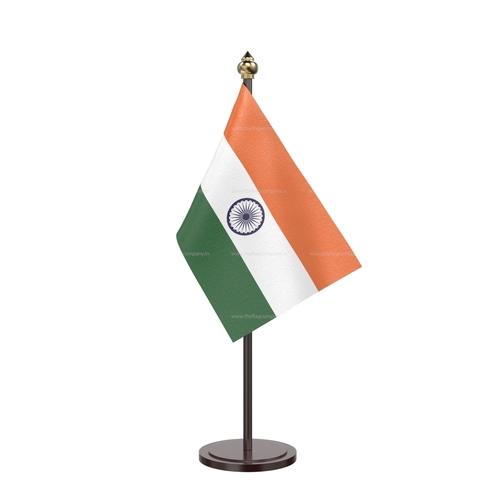 Round Black Acrylic Base Single National Flags