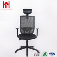 Good quality Black mesh computer office chair for office desk chair