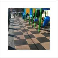 Inter lockable Rubber Tiles