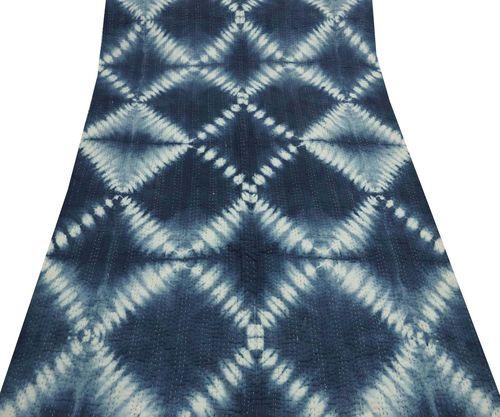 Tie Dye Kantha Quilt