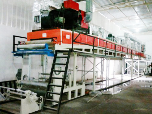 Bopp Self Adhesive Tape Coating Machine