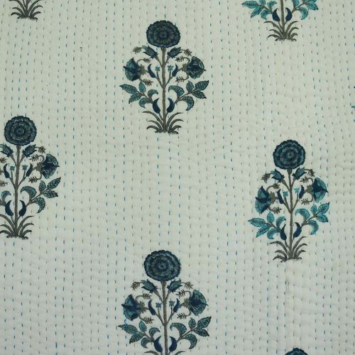 Printed Jaipuri Quilt