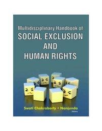 Multidisciplinary Handbook of SOCIAL EXCLUSION AND