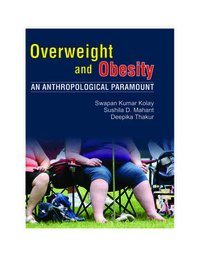 Overweight nd Obesity: An Anthropological Paramoun