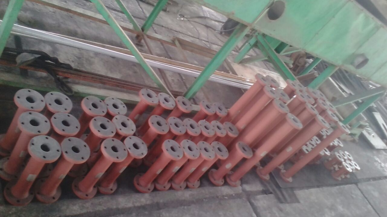 Rubber Lined Pipes and Fittings