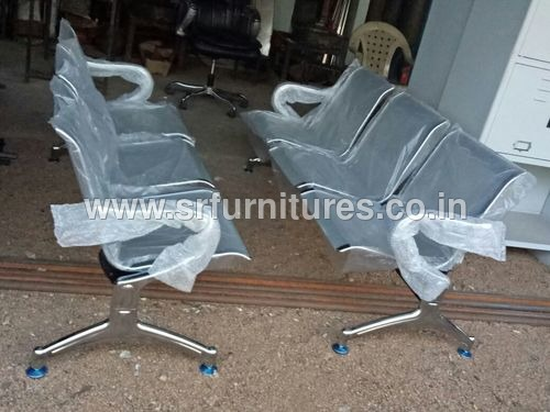 SS Three Seater Chair