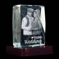3D Crystal Personalized Gift (3D-1002)