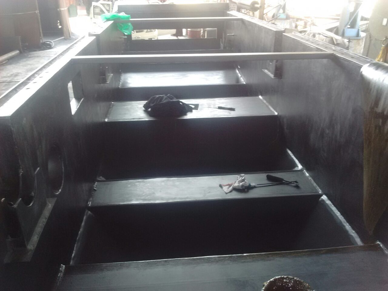 Pickling Tank Rubber Linings