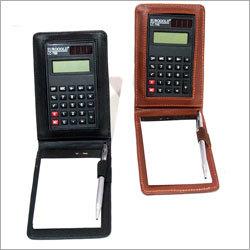 Leather Pocket Calculator