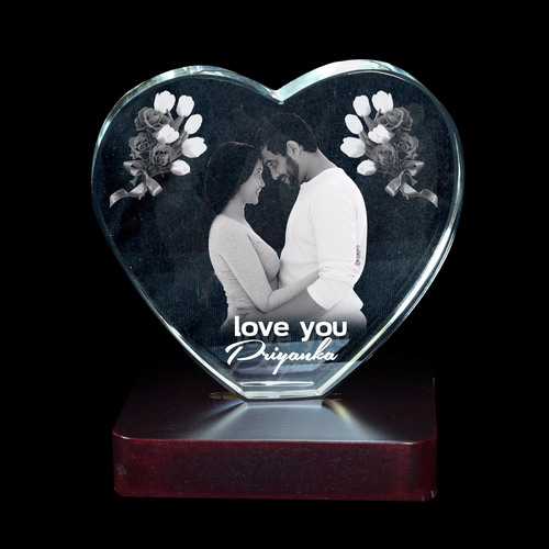 3D Crystal Personalized Gift (3D-1143B)