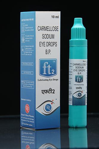 Lubricating eye drops