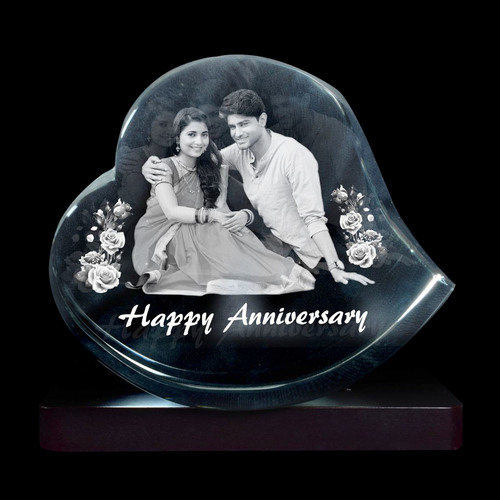 3D CRYSTAL ANNIVERSARY GIFT