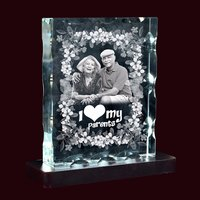3D Crystal Personalized Gift (3D-1118E)