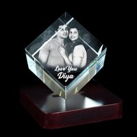 3D CRYSTAL VALENTINE GIFT