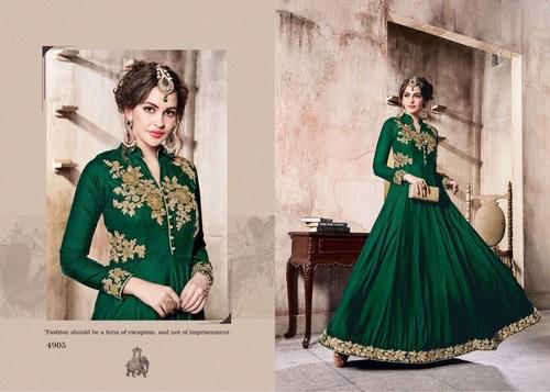 Winter Designer Long Salwar Suit