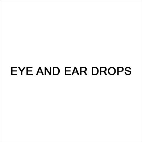 Eye And Ear Drops